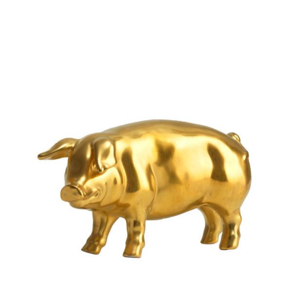 Gluecksschwein Gold