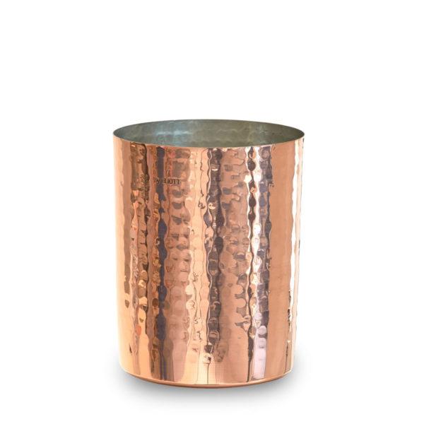 Kupfer Pot gehaemmert