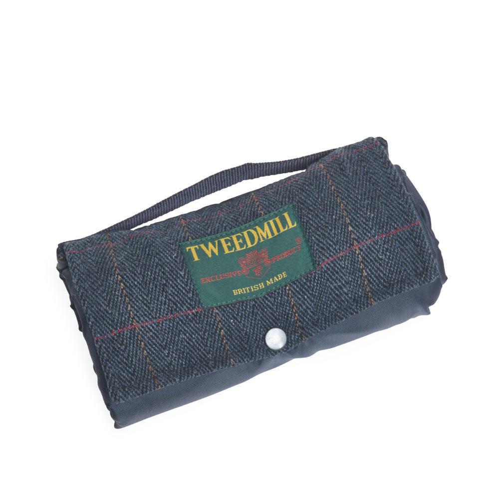 Picknickdecke Blau von Tweedmill