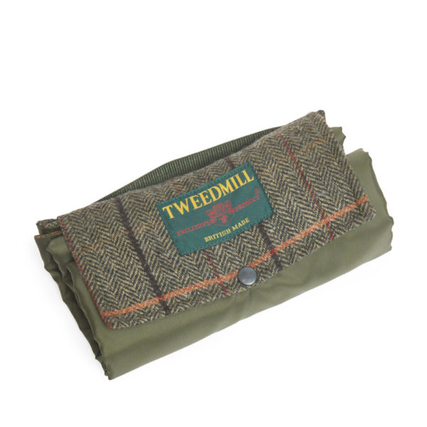 Picknickdecke Gruen von Tweedmill